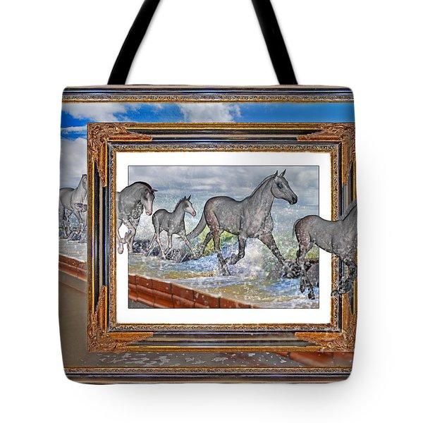 Spiritual Keys Tote Bag by Betsy Knapp