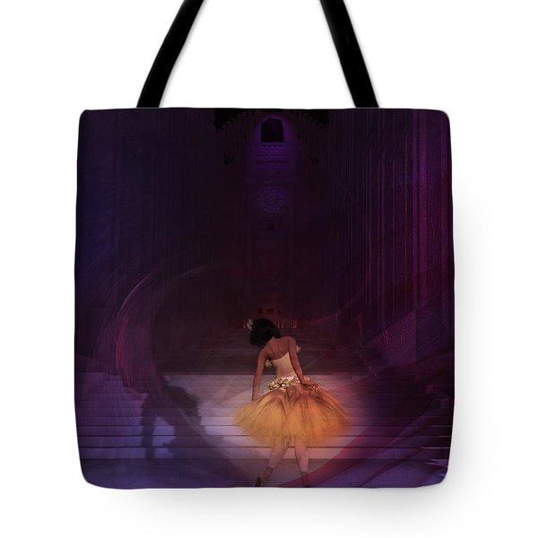 Spiritual Vortex Tote Bag by Kylie Sabra