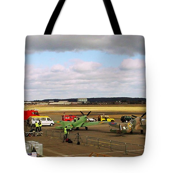 Spitfire's Galore Tote Bag by Terri  Waters