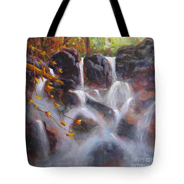 Splash And Trickle Tote Bag by Mohamed Hirji