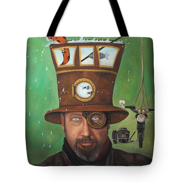 Splash Edit 2 Tote Bag by Leah Saulnier The Painting Maniac