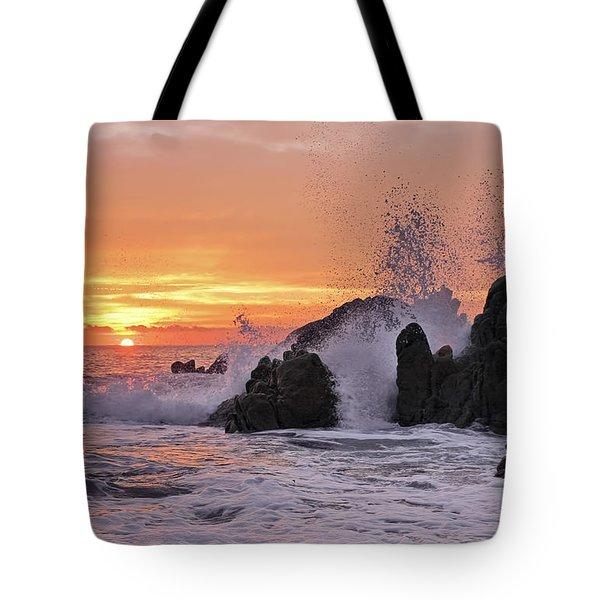 Splash  Tote Bag by Marcia Colelli