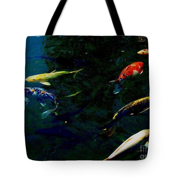 Splash Of Color Tote Bag by Greg Patzer