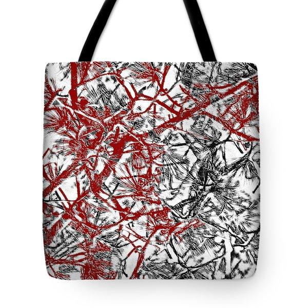 Splash Of Red Tote Bag by Gwyn Newcombe