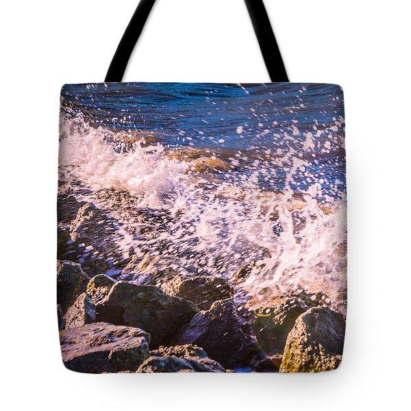 Splashes Tote Bag by Dawn OConnor