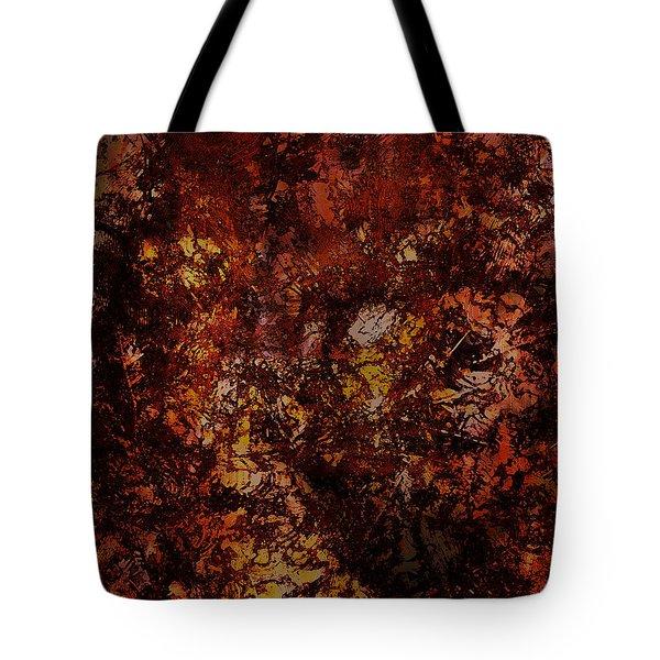 Splattered  Tote Bag by James Barnes