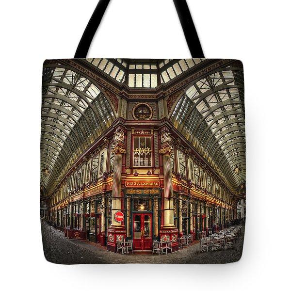 Split Indecision Tote Bag by Evelina Kremsdorf