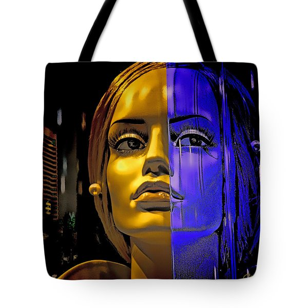 Split Personality Tote Bag by Chuck Staley