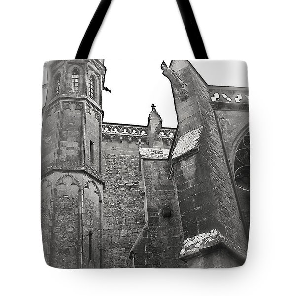 Classic Goth Tote Bag by FRANCE  ART