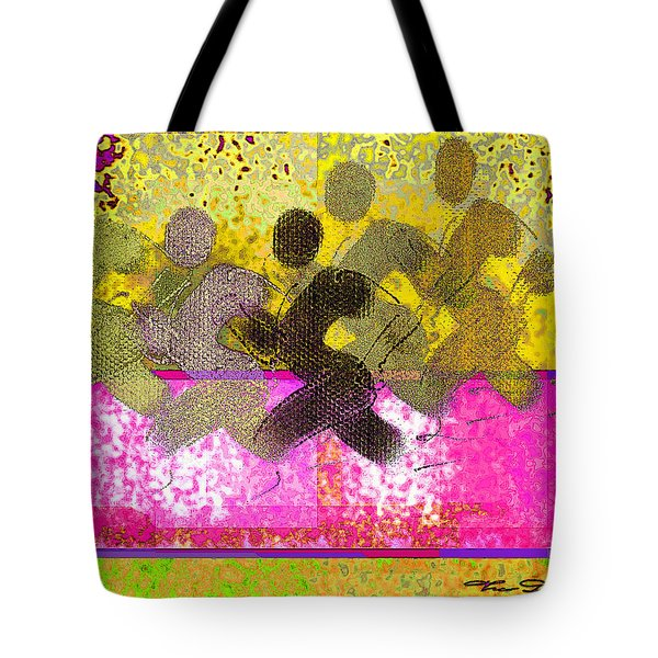 Sports B 2 Tote Bag by Theo Danella