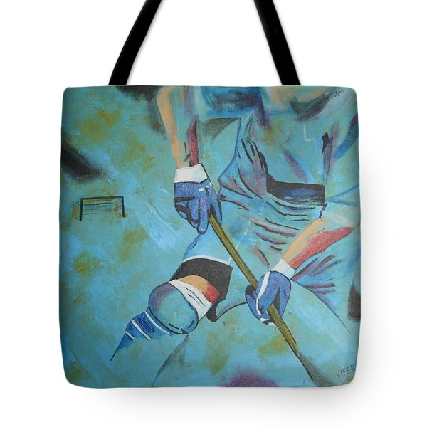 Sports Hockey-2 Tote Bag by Vitor Fernandes VIFER