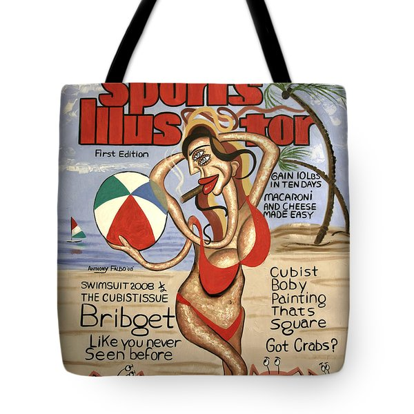 Sports Illustrator Swimsuit Edition Tote Bag by Anthony Falbo