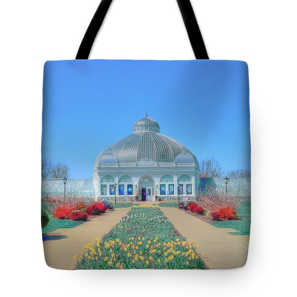 Spring At The Gardens Tote Bag by Kathleen Struckle
