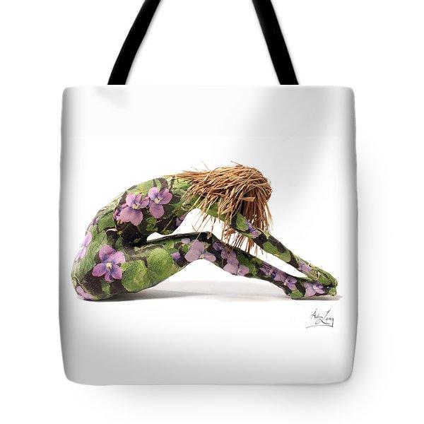 Spring Awakens Sculpture Tote Bag by Adam Long