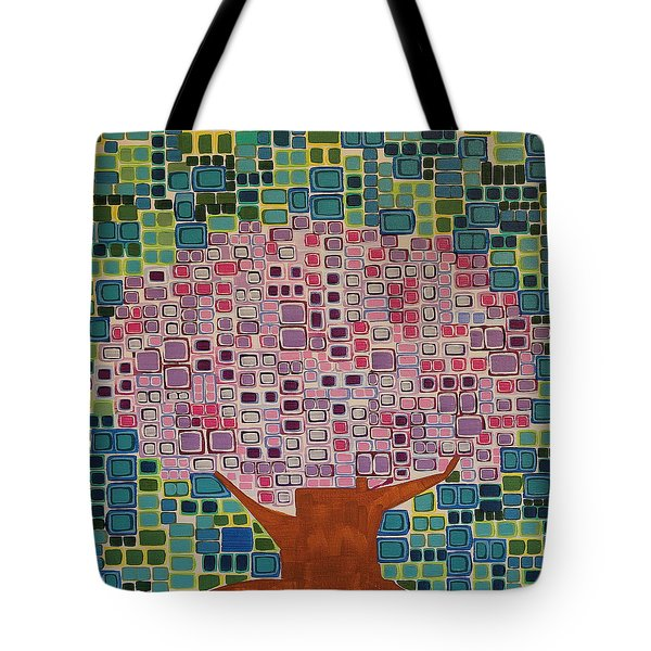 Spring Blossoms Tote Bag by Donna Howard