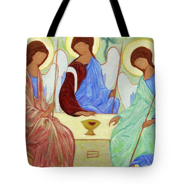 Spring Celebration Tote Bag by Xueling Zou