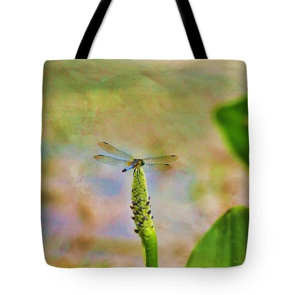 Spring Damsel Tote Bag by Deborah Benoit