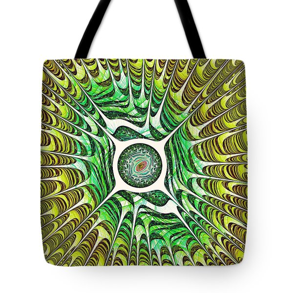 Spring Dragon Eye Tote Bag by Anastasiya Malakhova