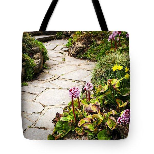 Spring Garden Tote Bag by Elena Elisseeva