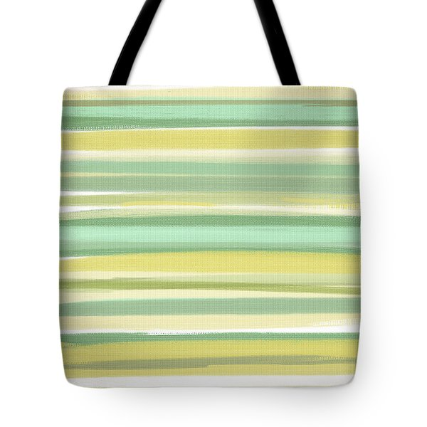 Spring Green Tote Bag by Lourry Legarde