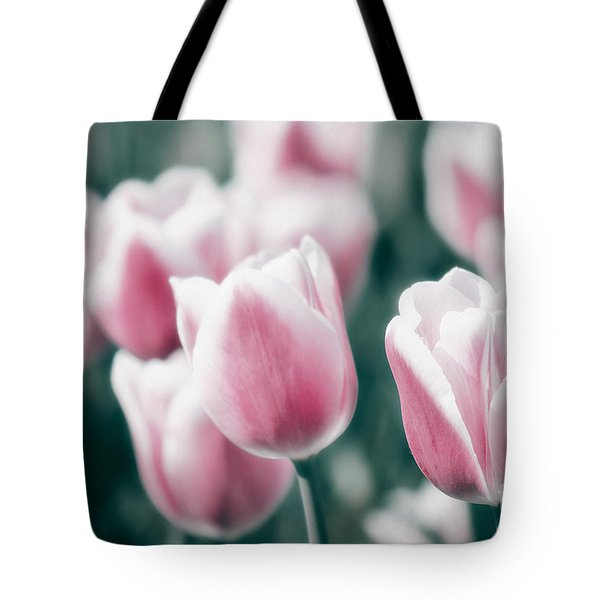 Spring in Love Tote Bag by Angela Doelling AD DESIGN Photo and PhotoArt