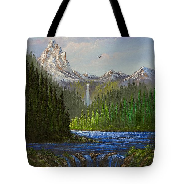 Spring In The Rockies Tote Bag by C Steele