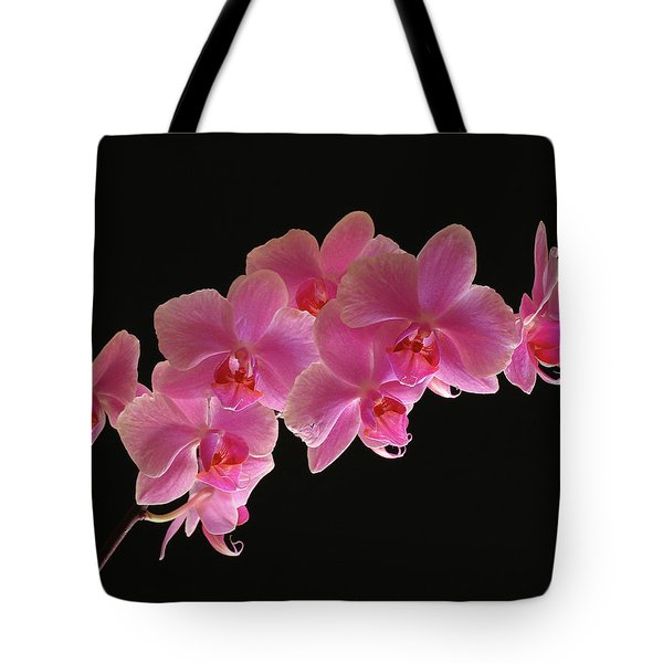 Spring Orchids Tote Bag by Juergen Roth