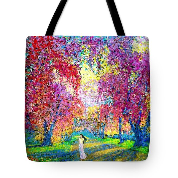 Spring Rhapsody Tote Bag by Jane Small