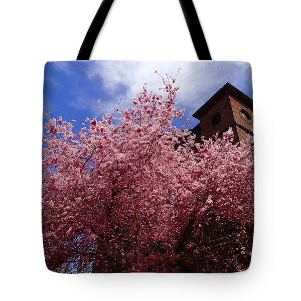 Spring Tote Bag by Robert Nickologianis