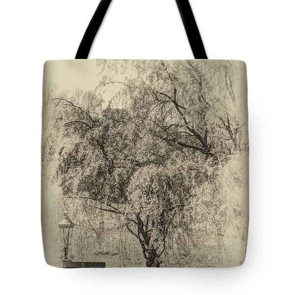 Spring Tote Bag by Skip Tribby