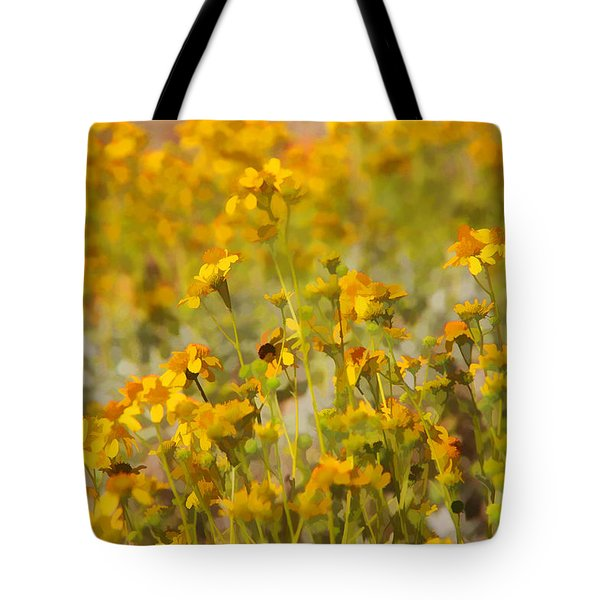 Spring Tote Bag by Tammy Espino