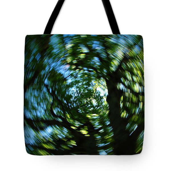 Spring Tree Carousel Tote Bag by Juergen Roth