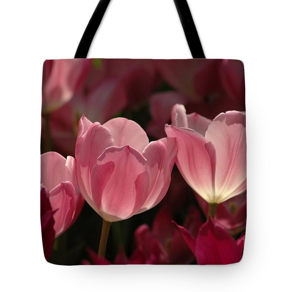 Spring Tulips Tote Bag by Kathleen Struckle