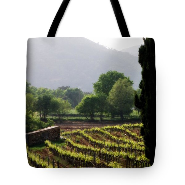 Spring Vines in Provence Tote Bag by Lainie Wrightson