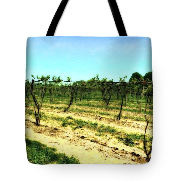 Spring Vineyard Ll Tote Bag by Michelle Calkins