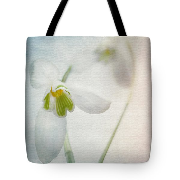 Springflower Tote Bag by Annie Snel