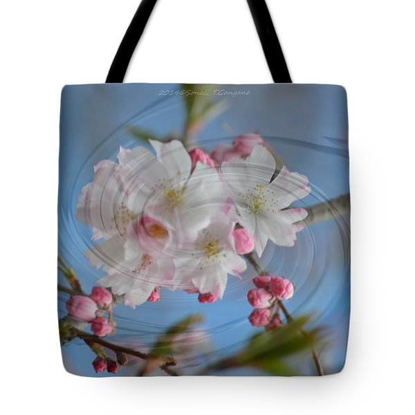 Springing Blossoms Tote Bag by Sonali Gangane