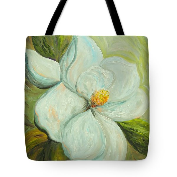 Spring's First Magnolia 2 Tote Bag by Eloise Schneider