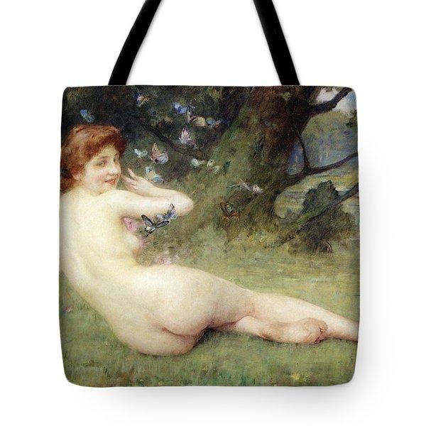 Springtime Tote Bag by Charles Lenoir