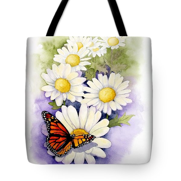 Springtime Daisies  Tote Bag by Brett Winn