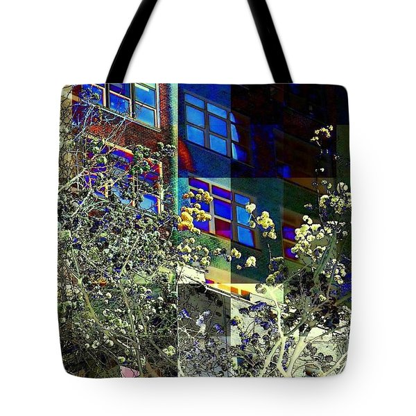 Springtime In New York 8 Tote Bag by Miriam Danar