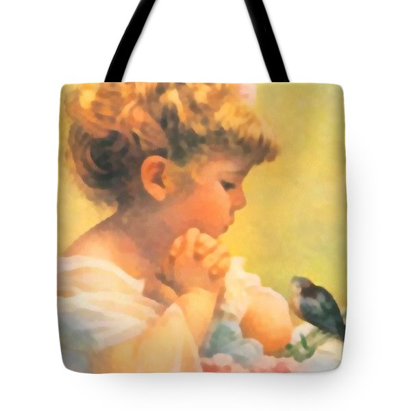 Springtime of Life Tote Bag by Bessie Pease Gutmann