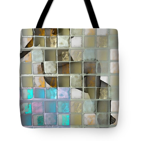 Squared Away 1 Tote Bag by Jeff Breiman