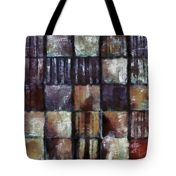 Squared Up 1 Tote Bag by Angelina Vick