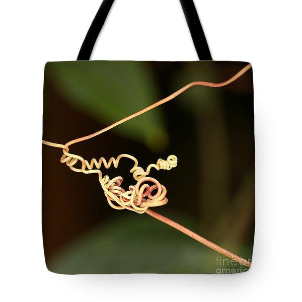 Squiggles Tote Bag by Sabrina L Ryan