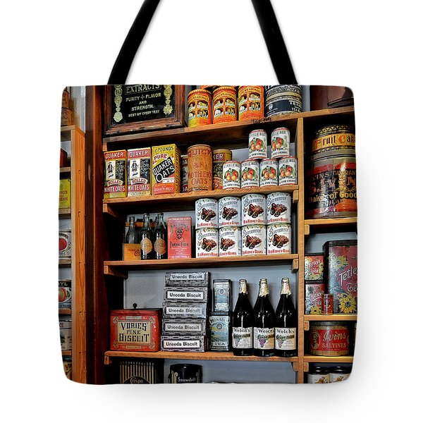 St Augustine's Oldest Store Tote Bag by Christine Till