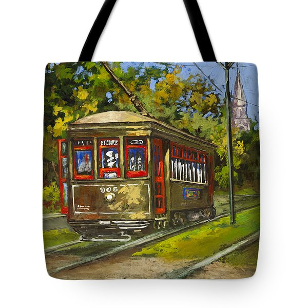 St. Charles No. 905 Tote Bag by Dianne Parks