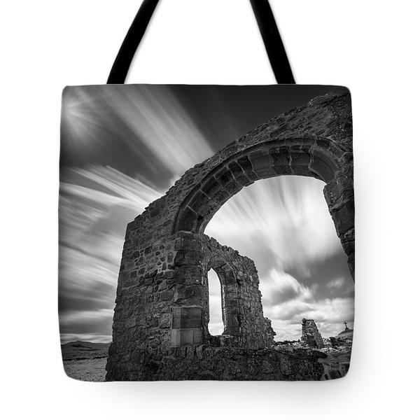 St Dwynwen's Church Tote Bag by Dave Bowman