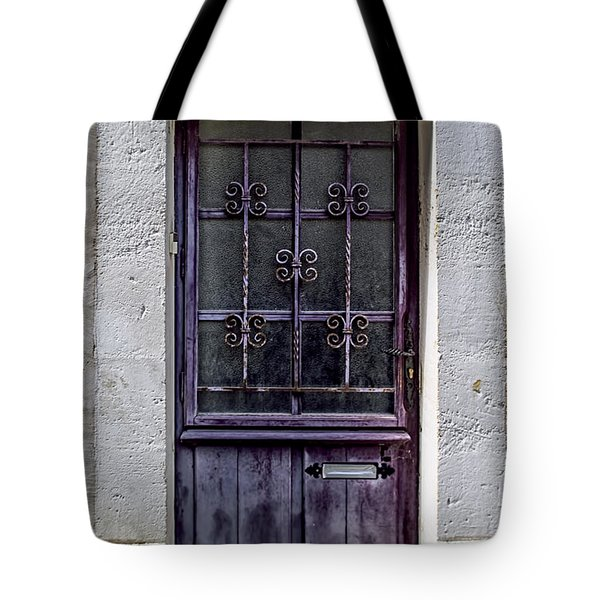 St Emilion Door Tote Bag by Nomad Art And  Design