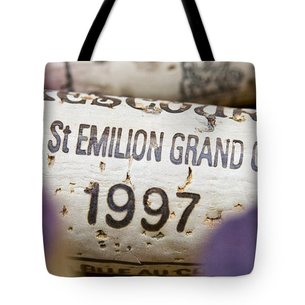 St Emilion Grand Cru Tote Bag by Frank Tschakert